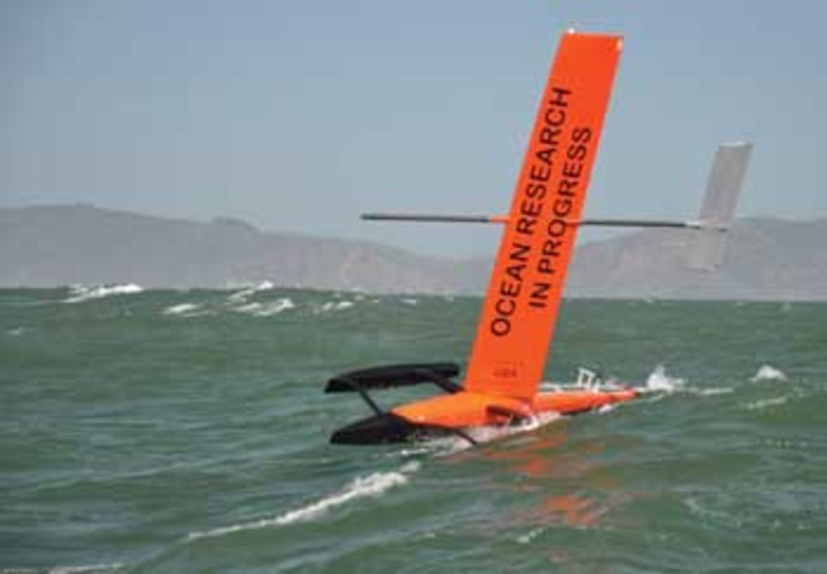 Saildrone's autonomous vessels have covered more than 60,000 miles, collecting data and monitoring fish stocks and environmental conditions.