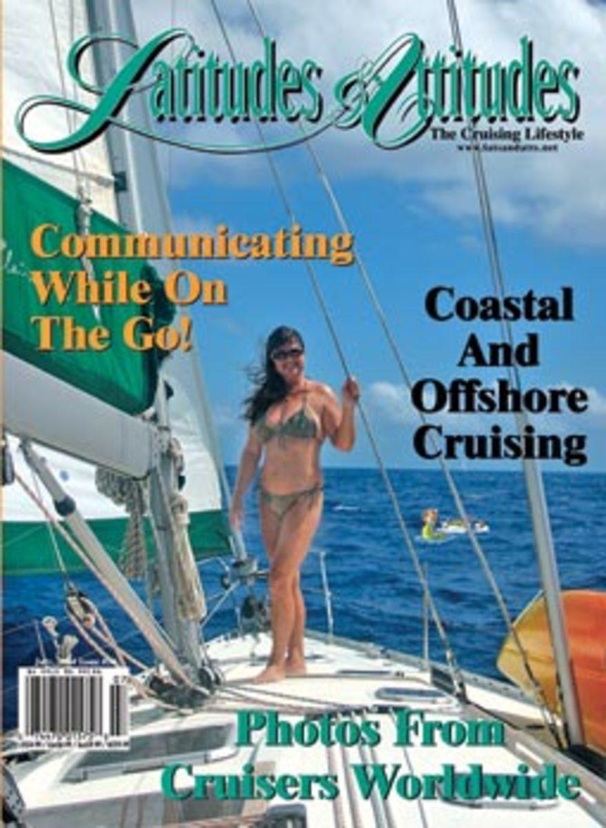 Latitudes & Attitudes magazine cover featuring Jody