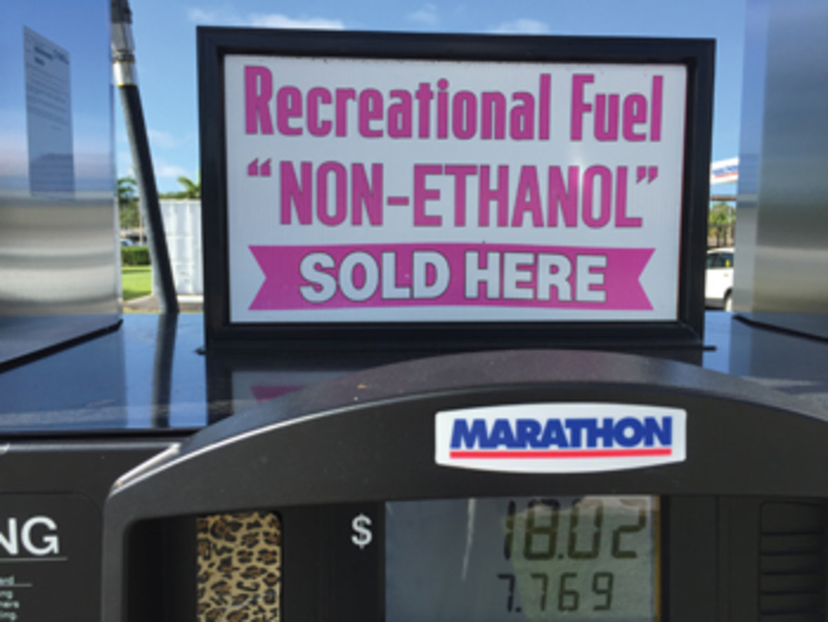 "Wish No. 2 on the writer's ""Hopes and Dreams List"" is non-ethanol gas for all boaters."