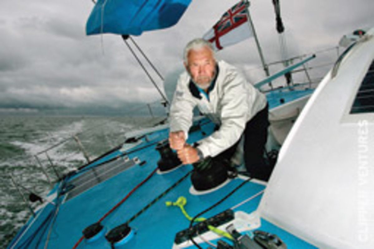 Sir Robin Knox-Johnston - who sailed around the world in the Velux 5 Ocean solo race at the age of 68 - has been awarded the Cruising Club of America's Blue Water Medal for his lifetime commitment to sailing, sail training and youth development.