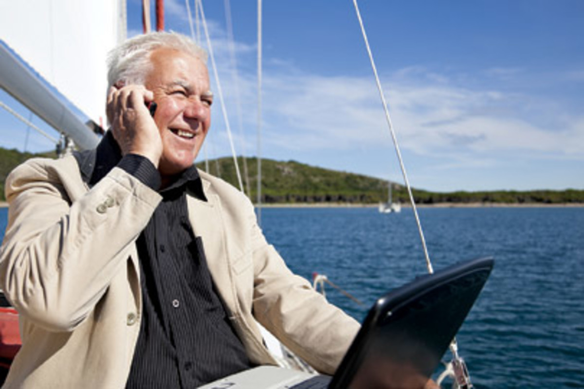 It may seem like sacrilege, but there are many advantages to cell phone and Internet access while cruising.