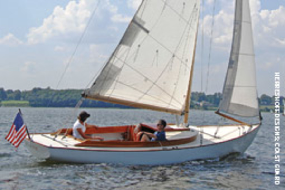 Nathanael G. Herreshoff's boat is back in production as Alerion 26, marketed by Herreshoff Designs of Bristol, R.I., and built by Brion Rieff Boatbuilder in Brooklin, Maine.