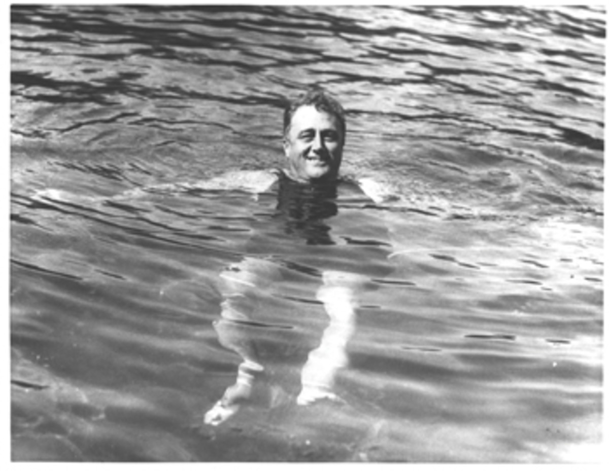 FDR found warm waters therapeutic and went on to purchase Warm Springs, a spa retreat in Georgia, after the sale of Larooco.