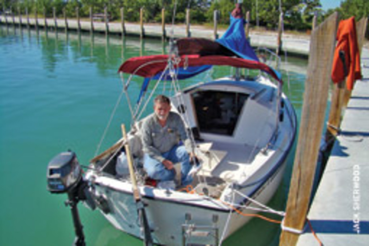 Like the Bay Tripper, Montana sailor Ferd Johns had escaped to the Keys but was greeted by record-low temperatures in the Sunshine State.