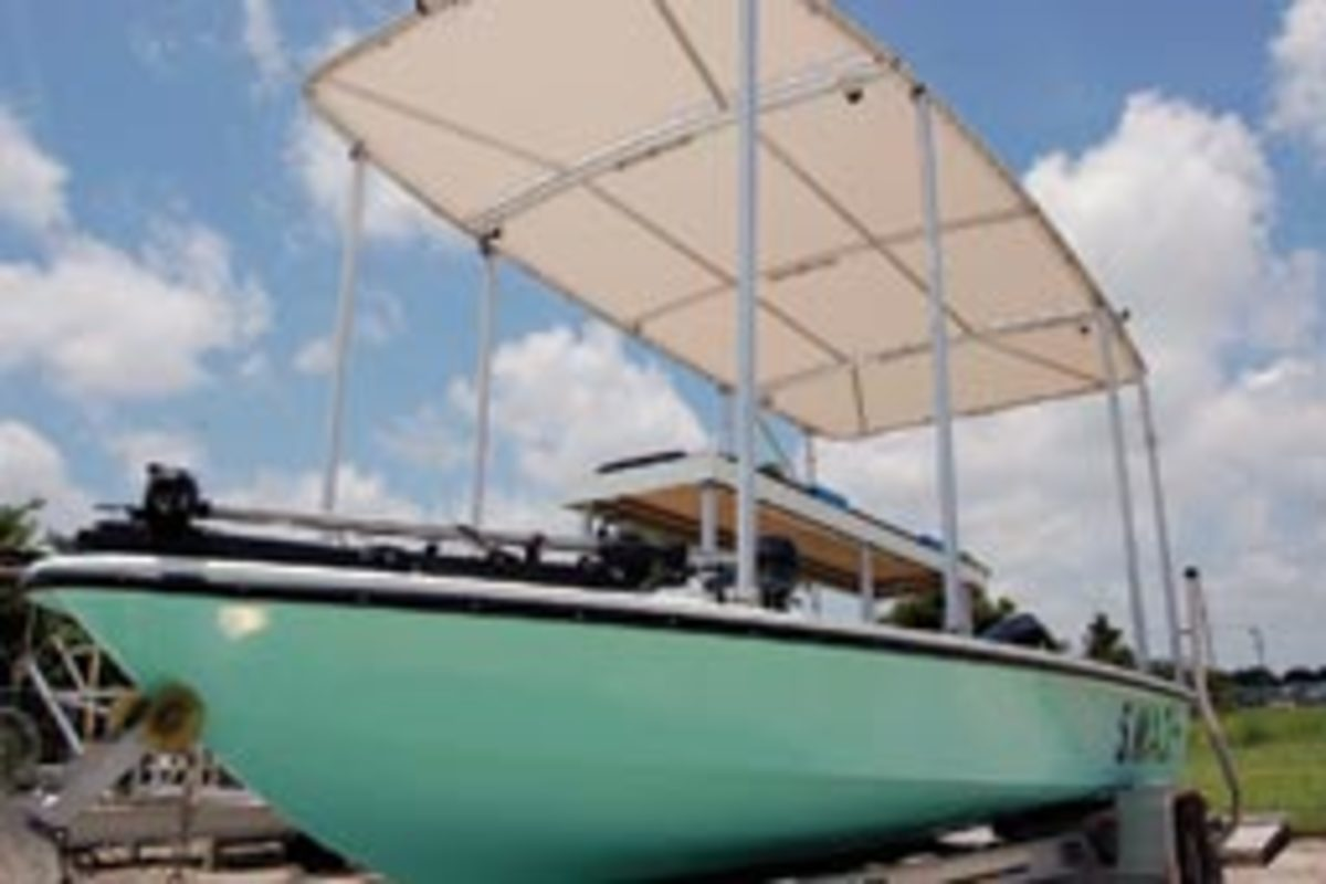 The wildlife rescue vessels are equipped with solar fans, a misting system, laptops, webcams and a collapsible canopy. Singer Jimmy Buffett is funding the project.