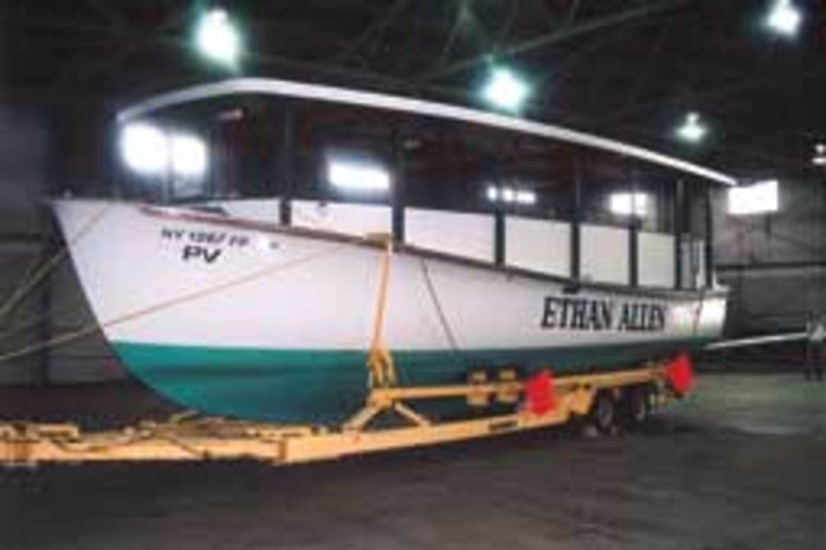 The 1964 Dyer has been a tough sell, and Panzella believes its history is to blame.