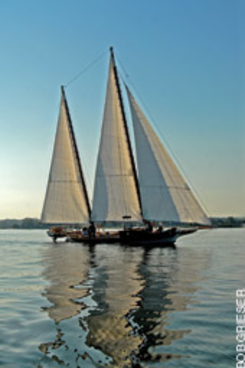 The Katherine M. Edwards was built as a grassroots project, with donated supplies and time.