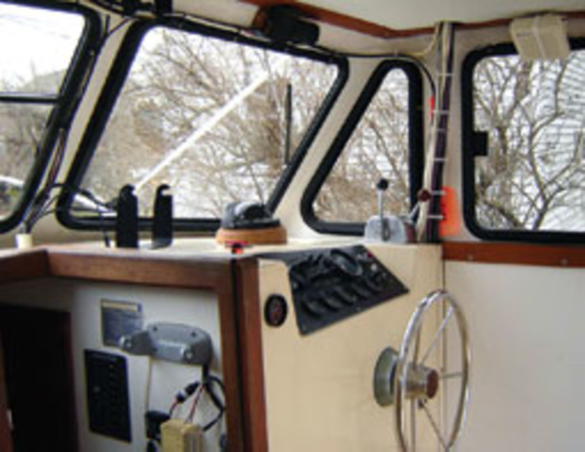 Improvements include a new custom dash, new power and new pilothouse windows.