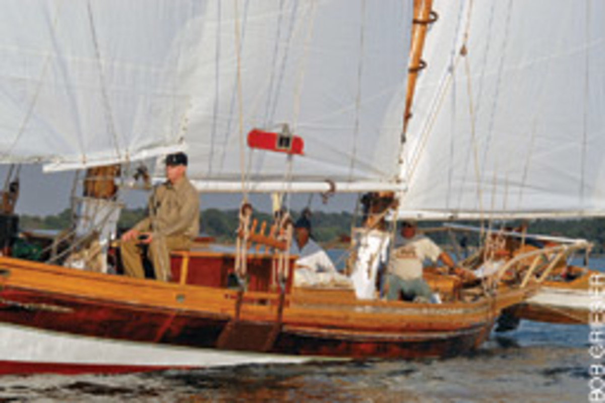 In the 1880 heyday of bugeyes, craftsmen would build a complete vessel in less than a year for $800.