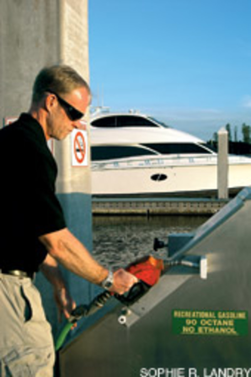 Marina Jack in Sarasota, Fla., wants boaters to know it sells ethanol-free gas.