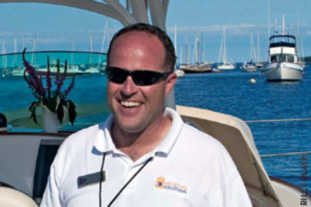 Bill Morong, head of Yachting Solutions