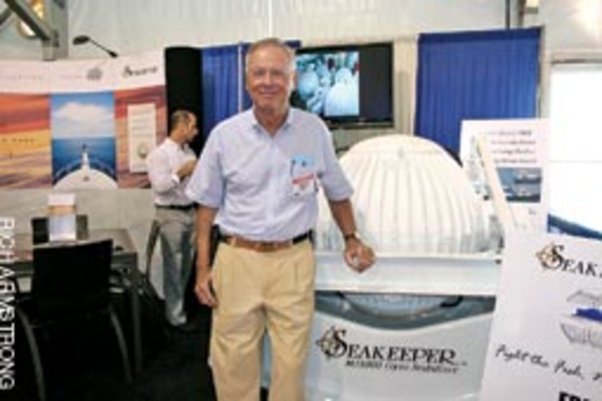Shep McKenney started Seakeeper because he had a vision for a technology that would correct unwanted boat motion.