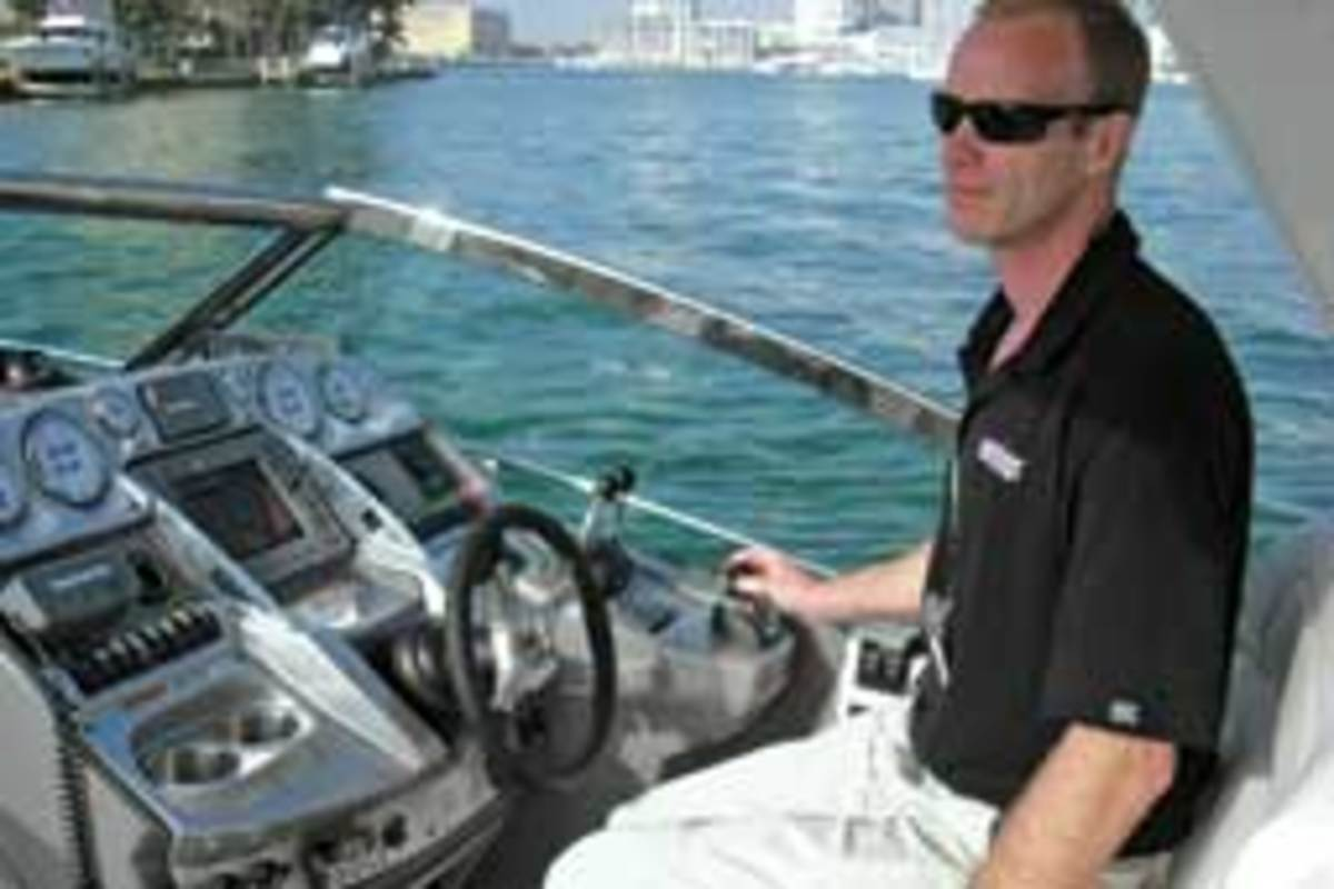 Soundings senior reporter Chris Landry has test-driven many boats with joystick controls.