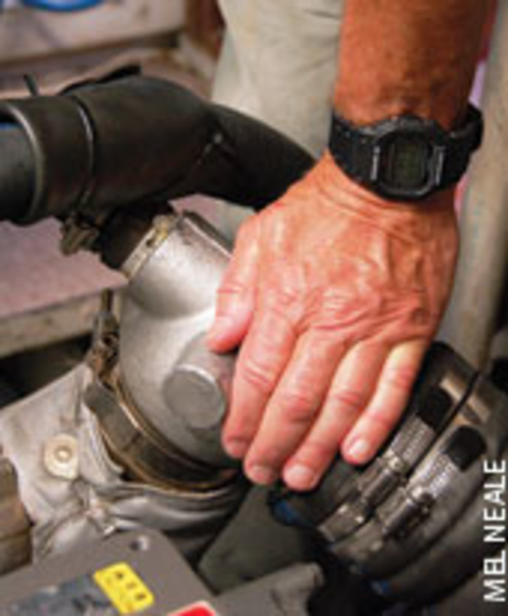 Learn the normal operating temperatures of different parts of your engine and other mechanical items. Some can be touched with the bare hand, but test first with a thermometer.