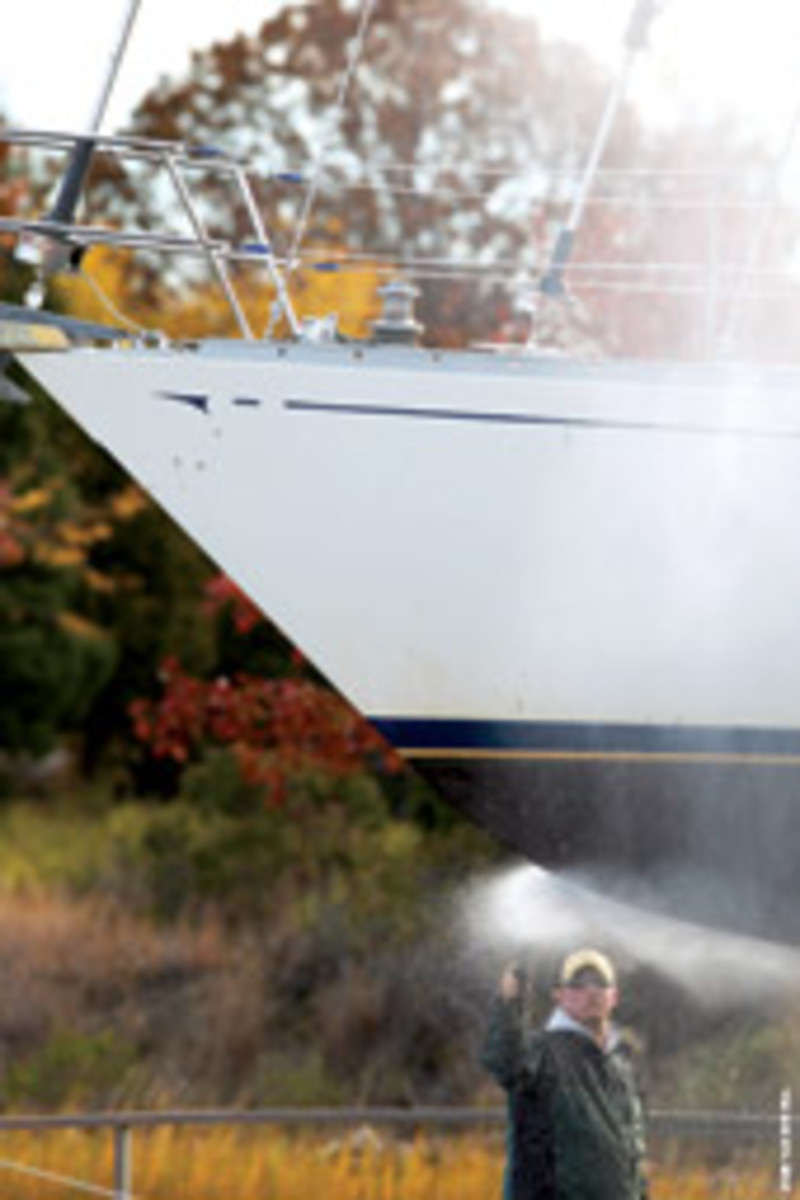Protect your boat by winterizing it properly. Don't cut corners or put things off until spring.