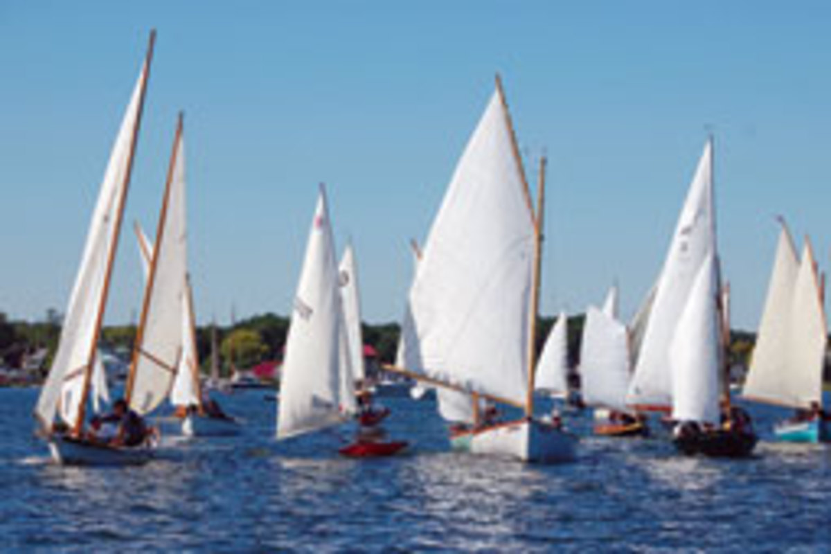 Small boats will race on the Miles River during the Oct. 1-2 festival.