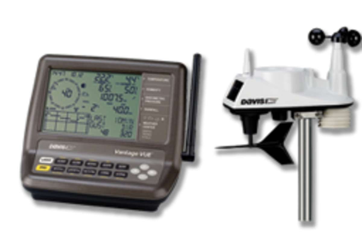 The Vantage Vue weather station from Davis Instruments