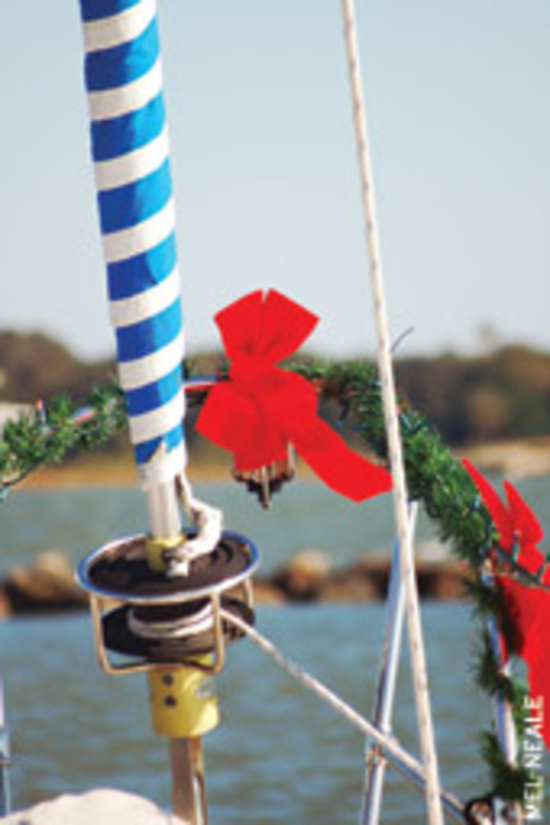 Life goes on after you move aboard to go cruising, so you might spend the holidays afloat.