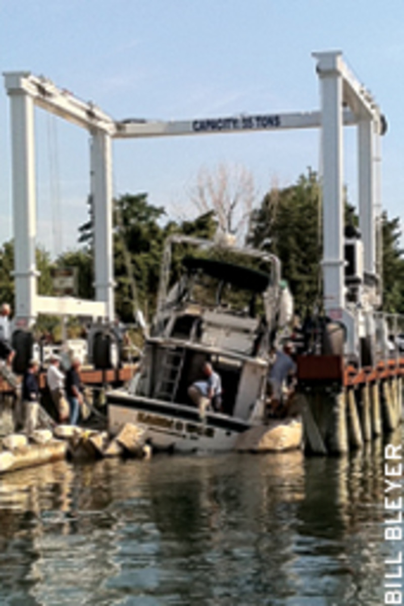 Overloading and mechanical or equipment failure are being considered as possible causes of the capsize.