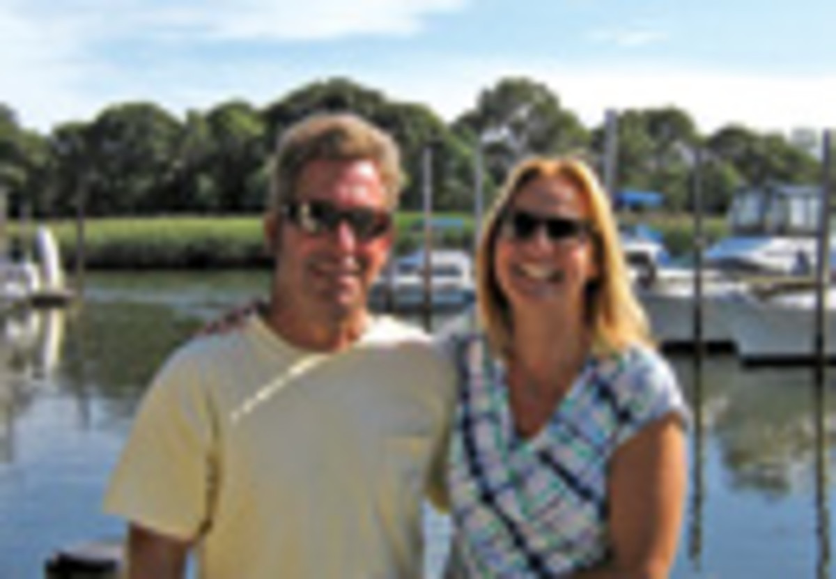 Chris and Ayse Frosina