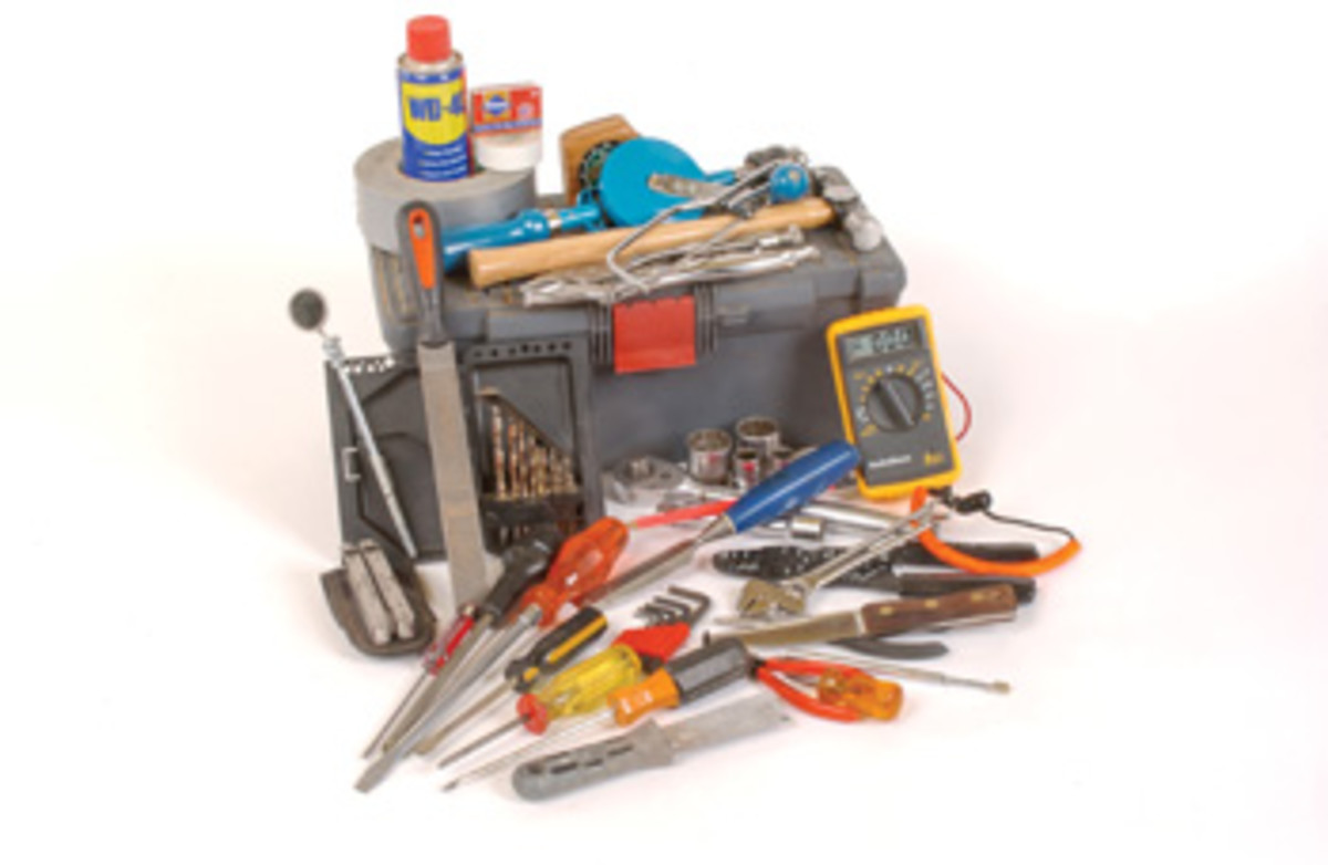 Choose tools based on your type of boating, but these are items that every toolbox should include.