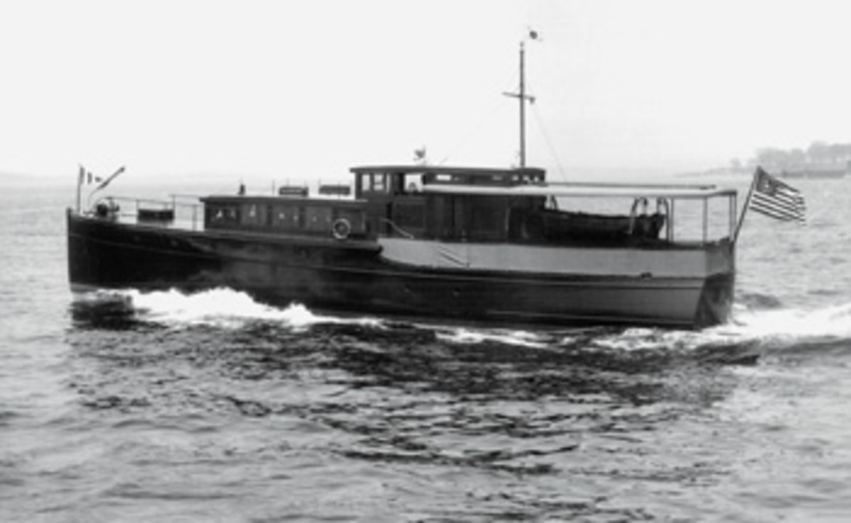 Annie Laurie was launched as Bonita IV in 1929 in Thomaston, Maine.