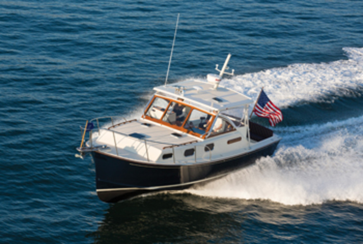 Fortier has a loyal following for its seakindly and handsome boats among fishermen and cruisers.