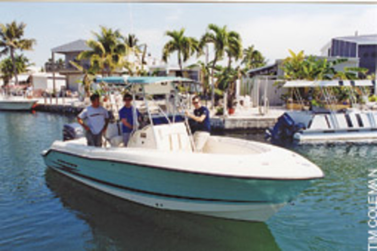 The transition from hooded sweatshirt to snowbird is complete when the boat is gassed and it's time to go fishing some January day in 70-degree Florida Keys weather.