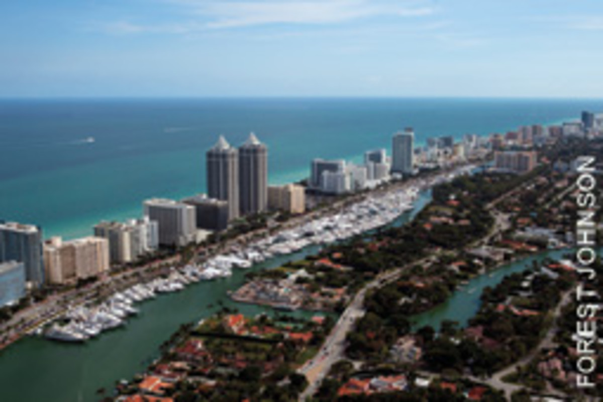 The Yacht & Brokerage Show along Collins Avenue offers a diverse collection of boats. Admission is free.