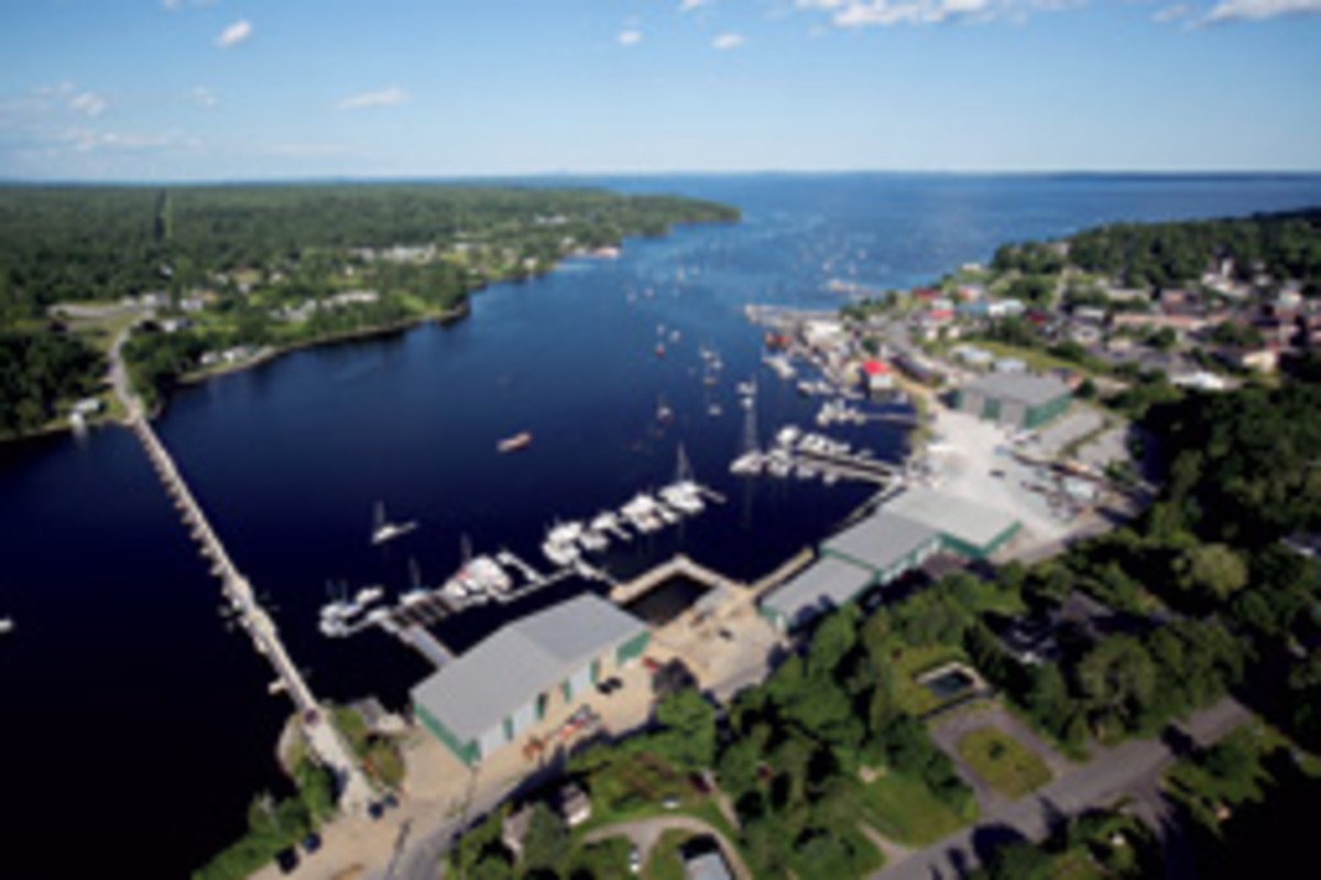 Front Street Shipyard in Belfast, Maine - founded by the owners of several semicustom/custom boatbuilders - offers new builds, as well as refit and restoration work, repairs, maintenance and more.