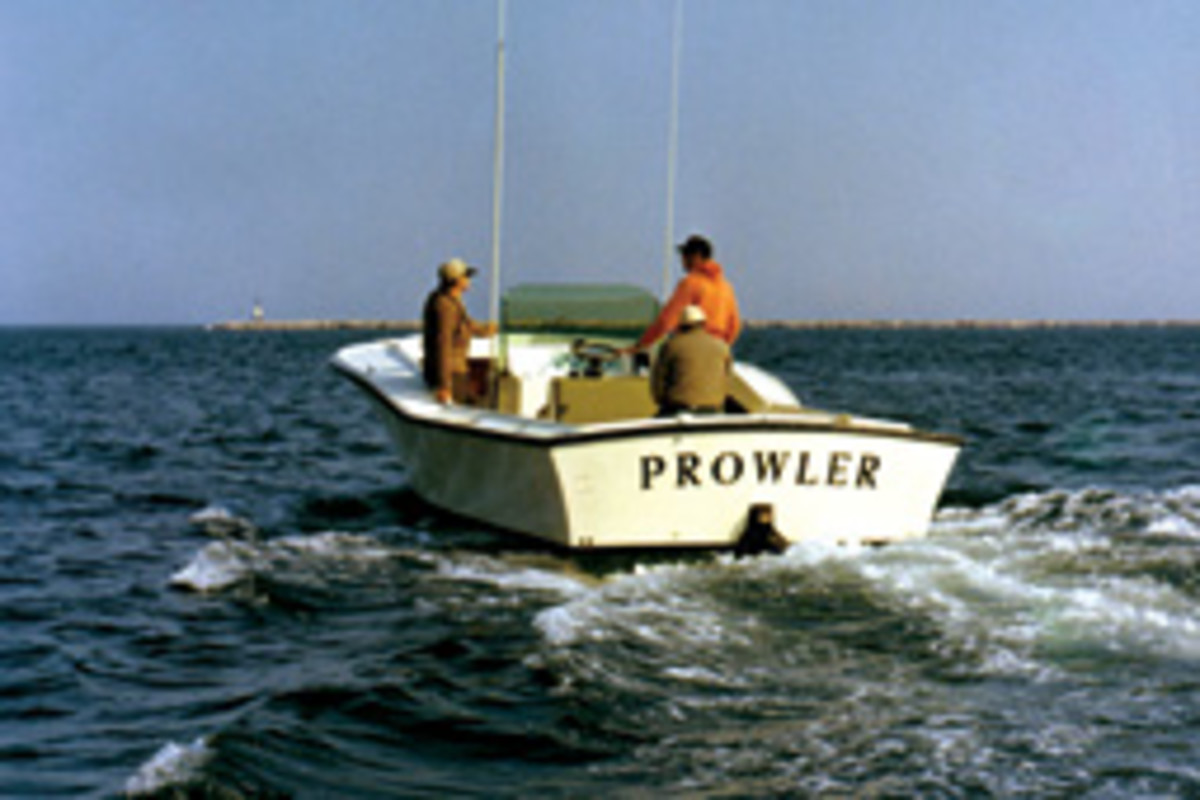 Capt. Al Anderson's 26-foot Bonito was a fine fishing boat, but she could rattle your fillings in a hard sea.