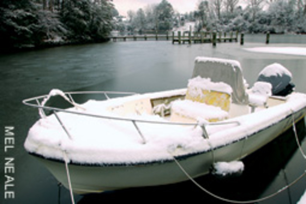 Consider an area's climate if you plan on keeping your boat in the water year-round.