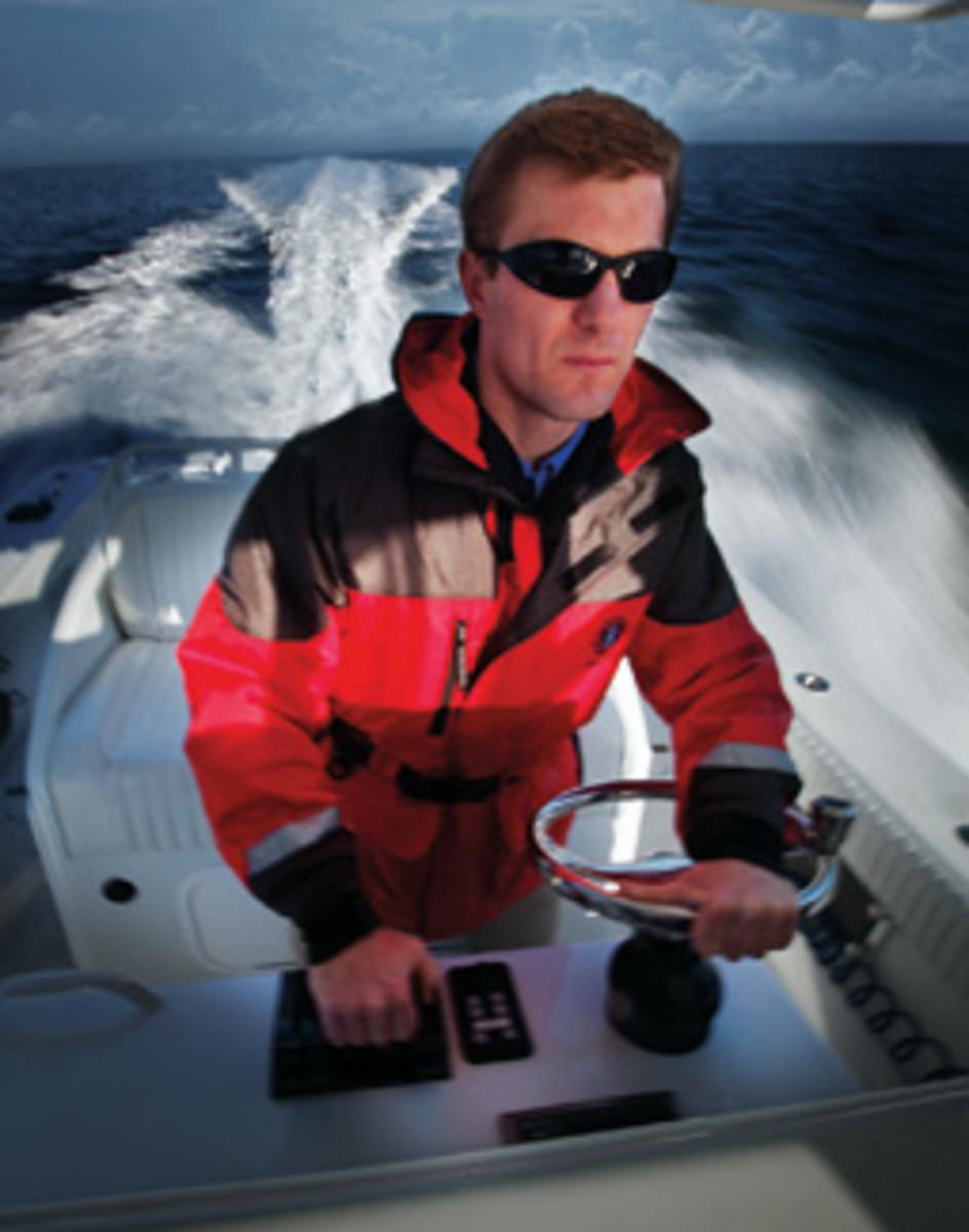 Chris Fertig broke the Bermuda Challenge record in a 37-foot center console.
