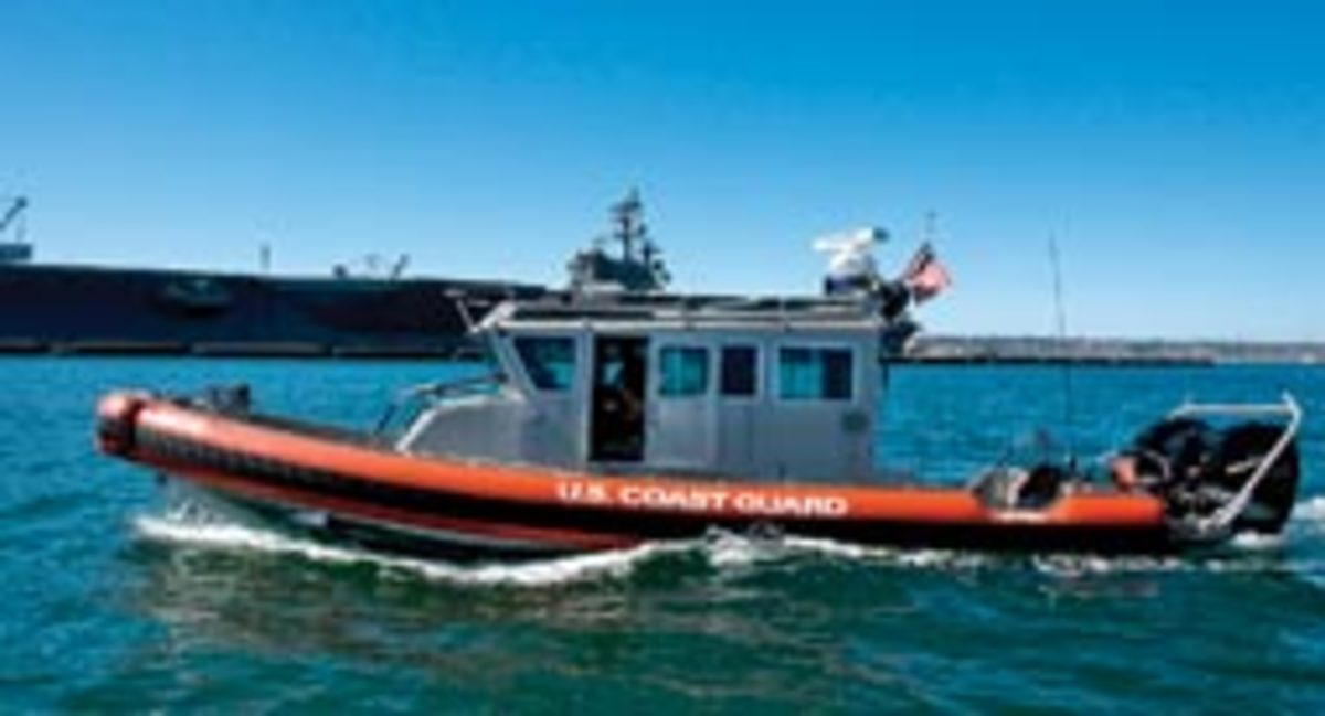 The DeWeeses were aboard a Sea Ray 240 Sundeck when it was struck by a 33-foot patrol boat.