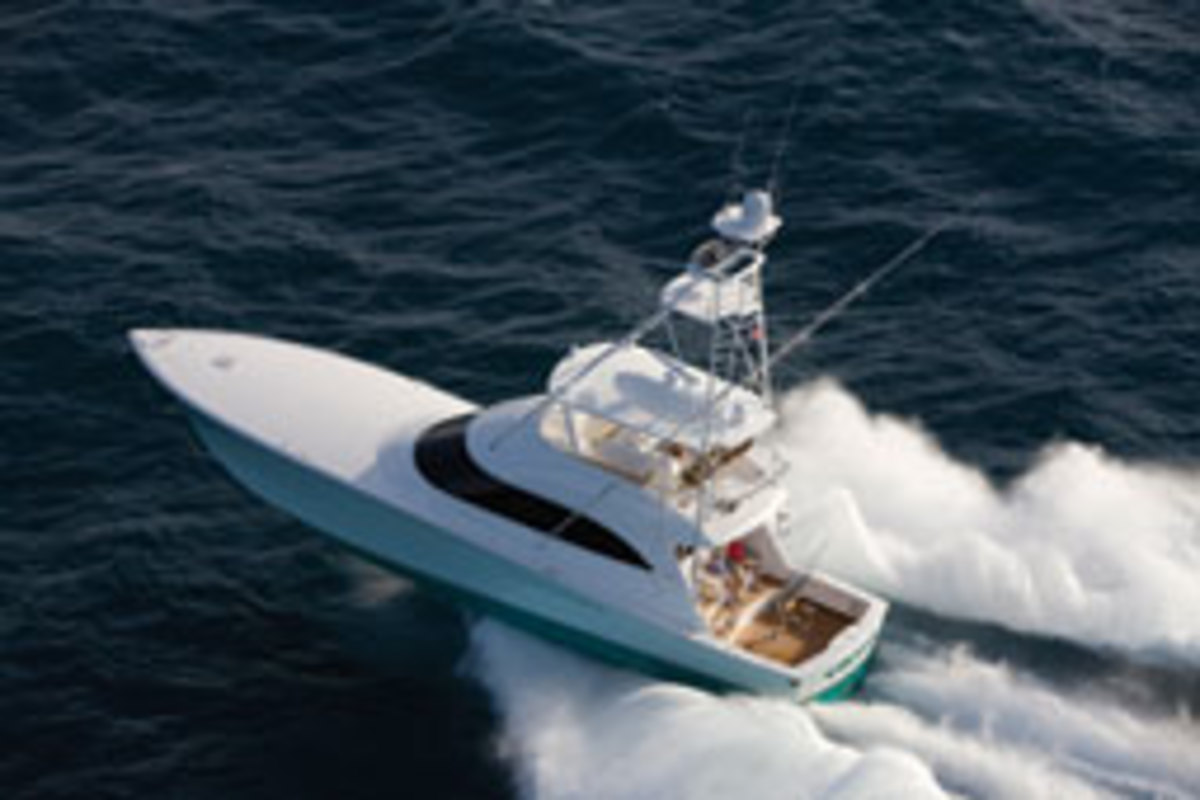 The 66 Open debuted at the Yacht and Brokerage Show in Maimi Beach in February.