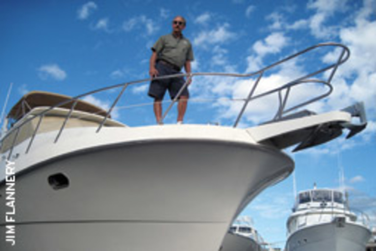 Connor is general manager of the New River Marina in Fort Lauderdale.