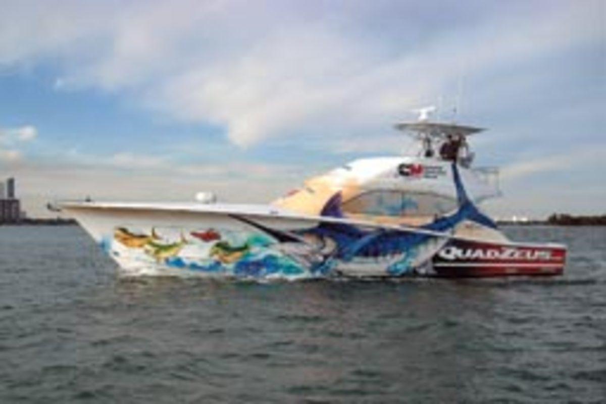 Mercury Hybrid Concept Vessel