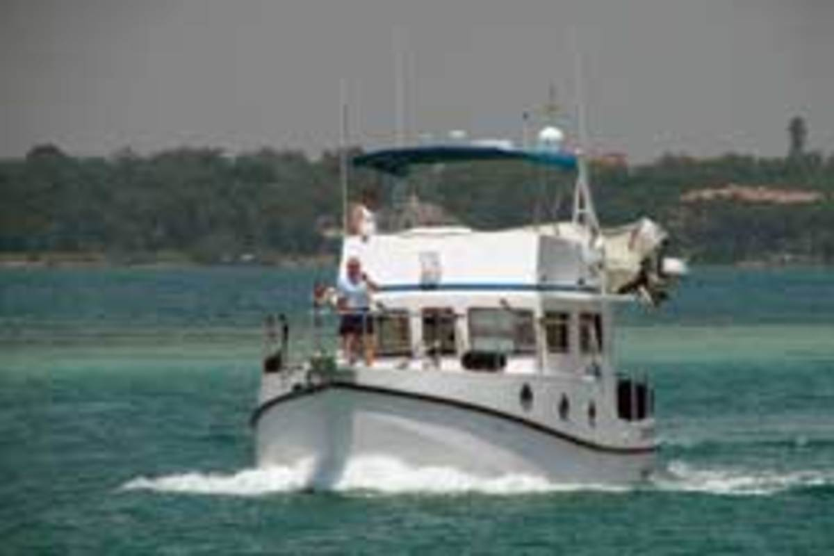 Joe Pica and his wife, Kathy, have cruised 16,000 miles on their Great Harbour N37 over the past three years.