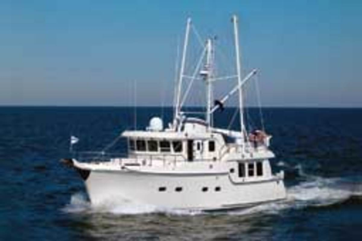 Nordhavn 47 owners Milt and Judy Baker place a high priority on buying a top-quality brand.