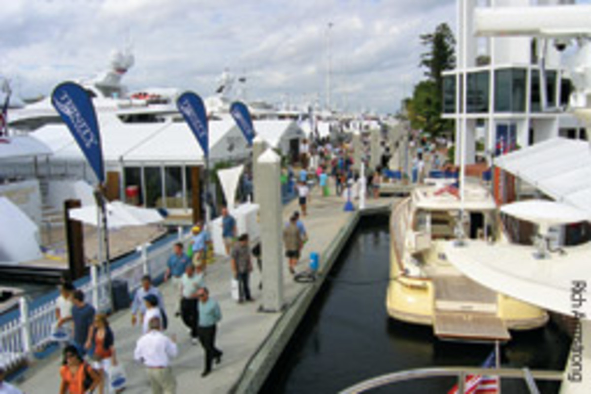 The Fort Lauderdale International Boat Show grew to one of the world's largest under Pearson's management.
