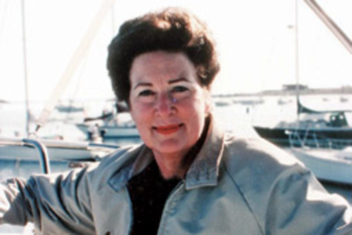 Mary Jane Hayes turned a love of boating into a vocation as a maritime storyteller.