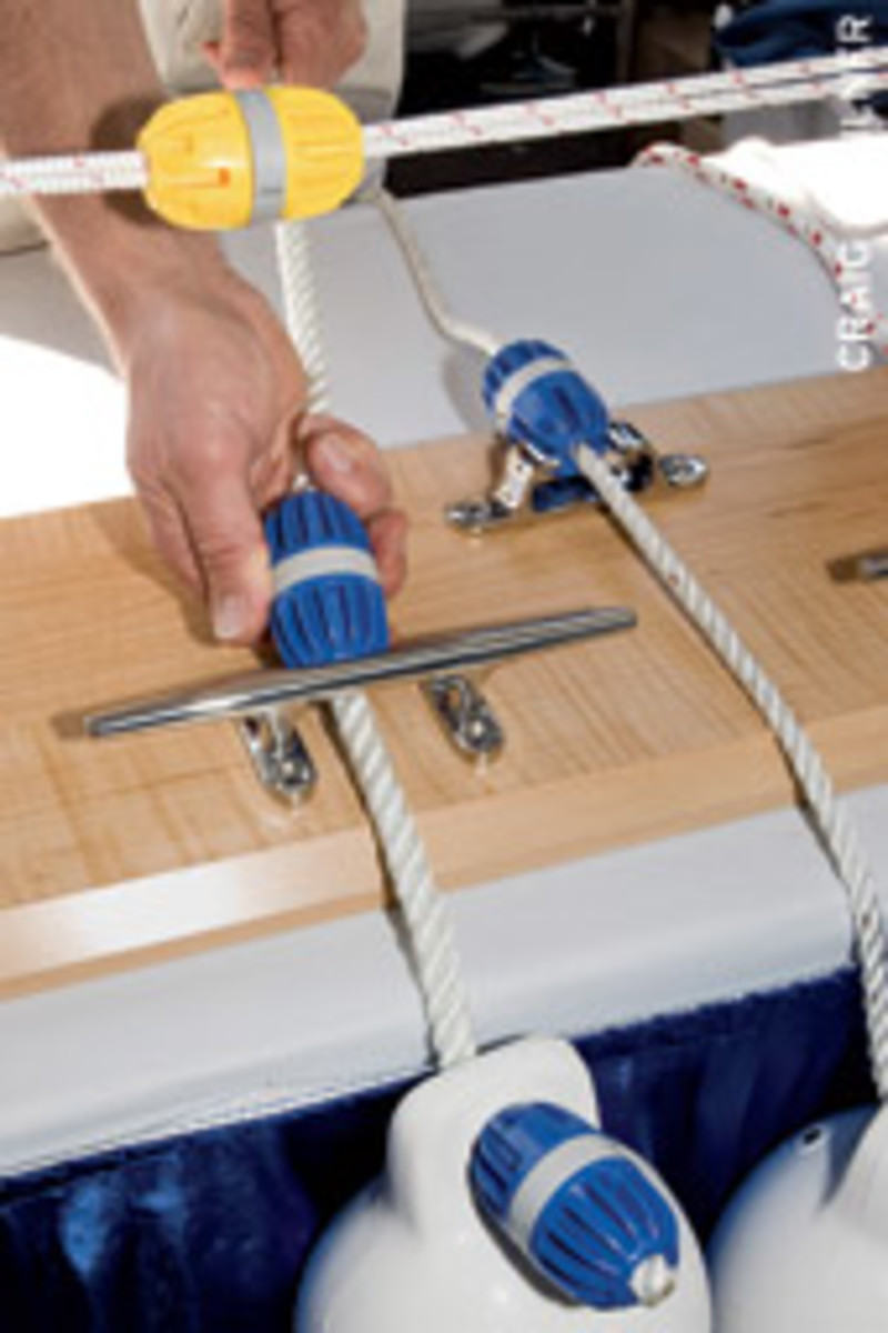 The device is designed to help sailors more easily manage single or multiple lines.