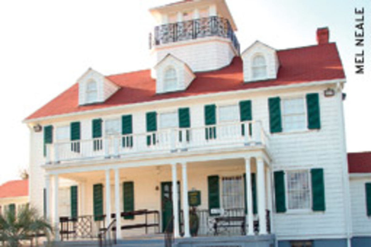 The former Coast Guard station now is a maritime museum.