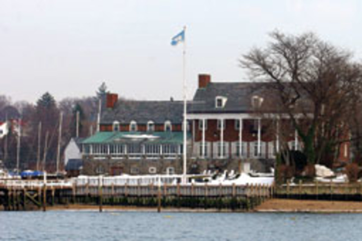 The Manhassett Bay Yacht Club on Long Island claims to have originated the sport of organized winter racing - frostbite racing.