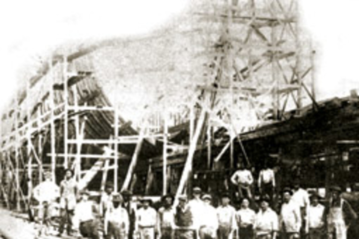 Rachel was built at De Angelo Shipyard in Moss Point, Mass.