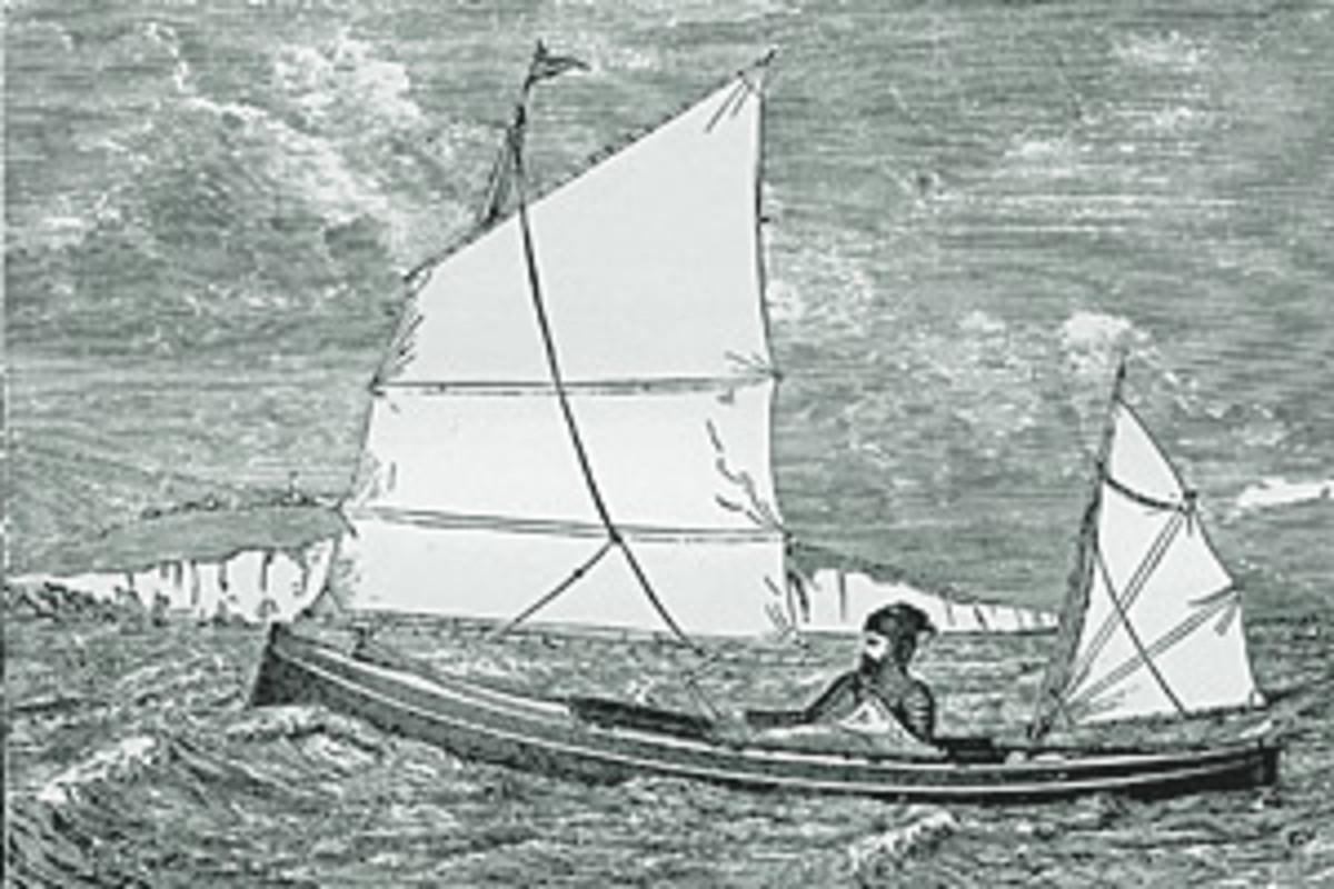 A jolly big canoe soundings online for Big canoe