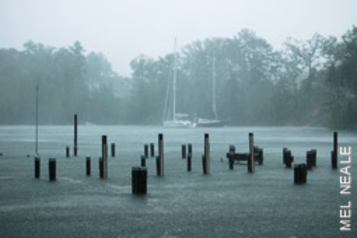 These docks were about 2 feet under water during a tropical storm.