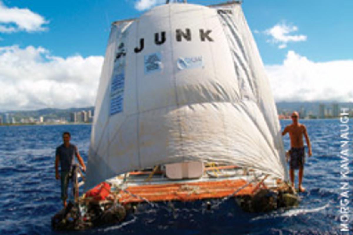 Junkraft arrives in Honolulu.