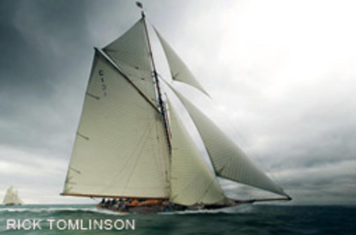 William Fife's Mariquita is a regular on the classic yacht scene.