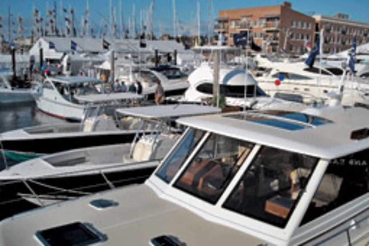 Newport International Boat Show celebrates its 39th year Sept. 17 - 20.